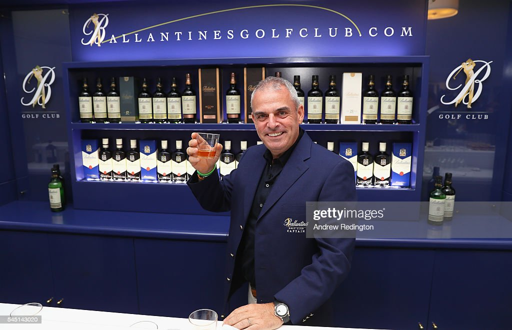 Ballantine's Golf Club Media Event Hosted By Captain, Paul McGinley