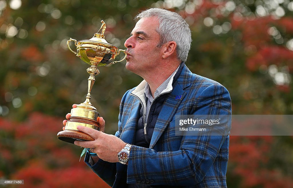 Paul McGinley Press Conference - 2014 Ryder Cup