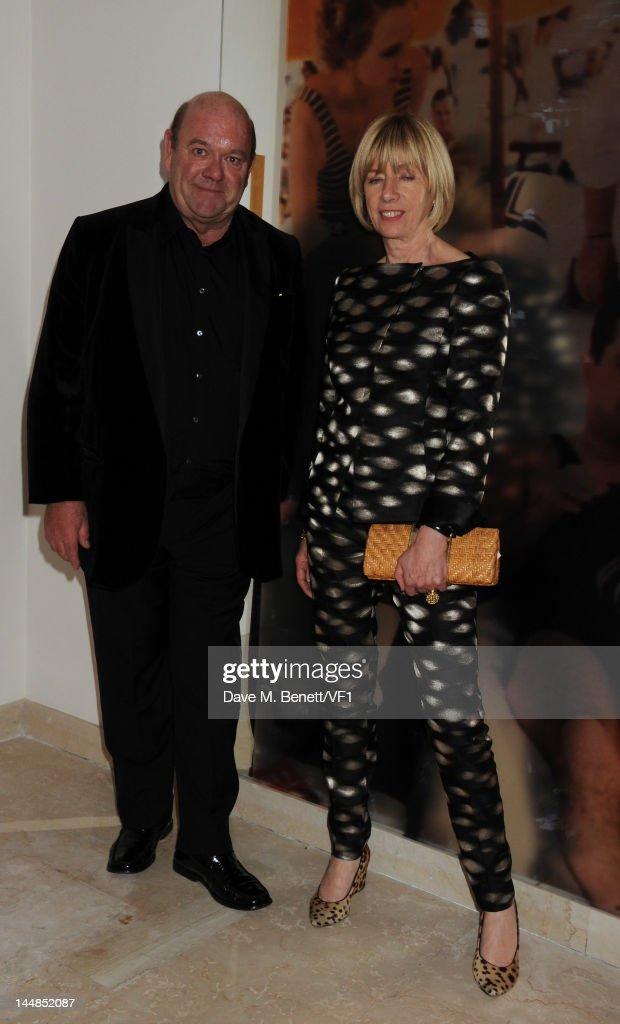 Paul McGuinness (L) attends the Vanity Fair And Gucci Party during the 65th Annual Cannes Film Festival at Hotel Du Cap on May 19, 2012 in Antibes, France.
