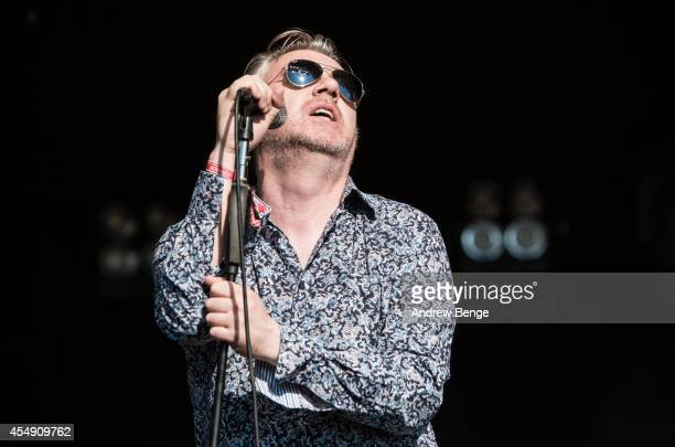 Paul McLoone of The Undertones performs on stage for Festival No6 on September 7 2014 in Portmeirion United Kingdom