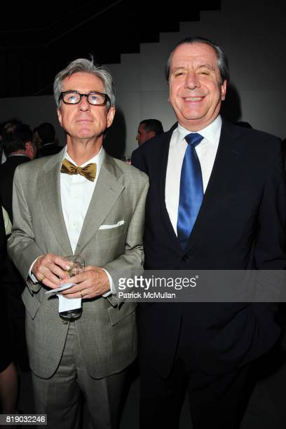 Paul McLoughlin and Henri Barguirdjian attend JONATHAN TISCH Book Launch Party for 'Citizen You' at The Museum of Modern Art on May 6 2010 in New...