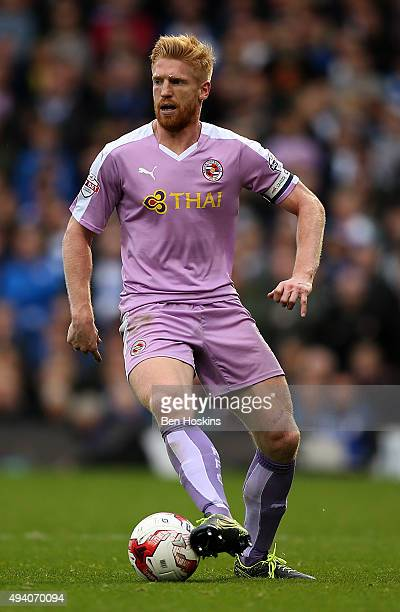 Paul McShane of Reading in action during the Sky Bet Championship match between Fulham and Reading on October 24 2015 in London United Kingdom