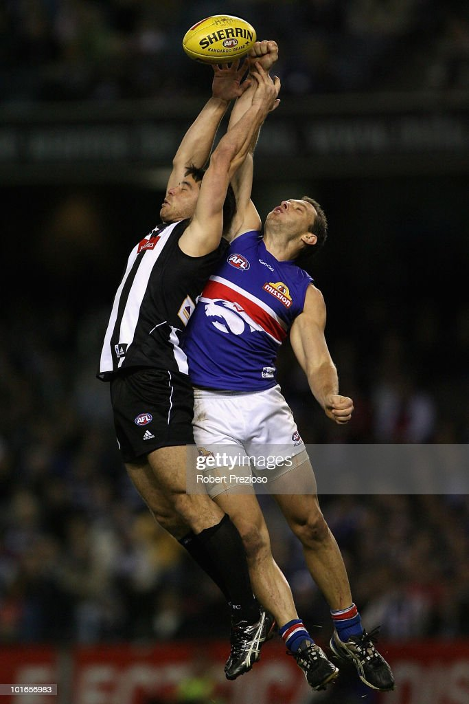 AFL Rd 11 - Magpies v Bulldogs