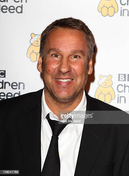 Paul Merson attends 'An Evening with the Stars' in aid of BBC Children in Need at Battersea Evolution on October 11 2011 in London England