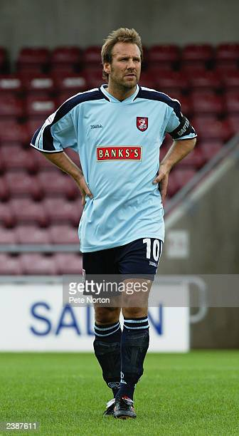 Paul Merson of Walsall in action during the PreSeason Friendly match between Northampton Town and Walsall held on July 26 2003 at the Sixfields...