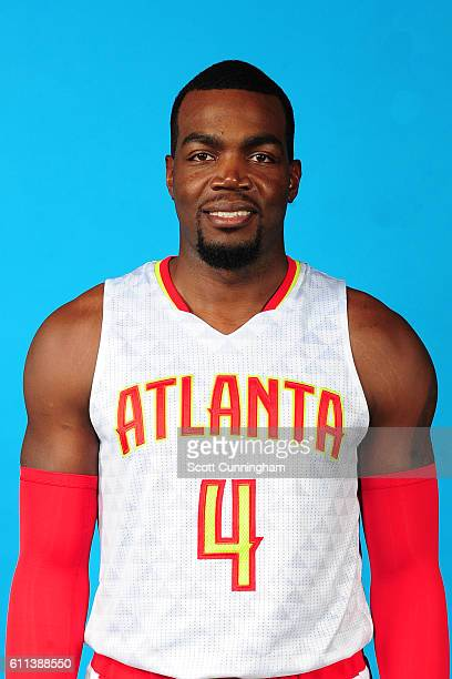 Paul Millsap of the Atlanta Hawks poses for a portrait during 20162017 Atlanta Hawks Media Day at Phillips Arena on September 26 2016 in Atlanta...