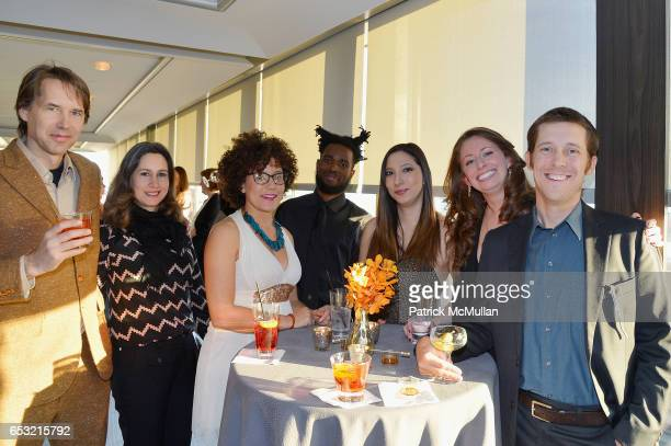 Paul Misut Viola Rouhani Lydia Hicks Walter Price Tanya Gabrieliam Lucia Davis and Justin Merrill attend the Guild Hall Academy of the Arts...