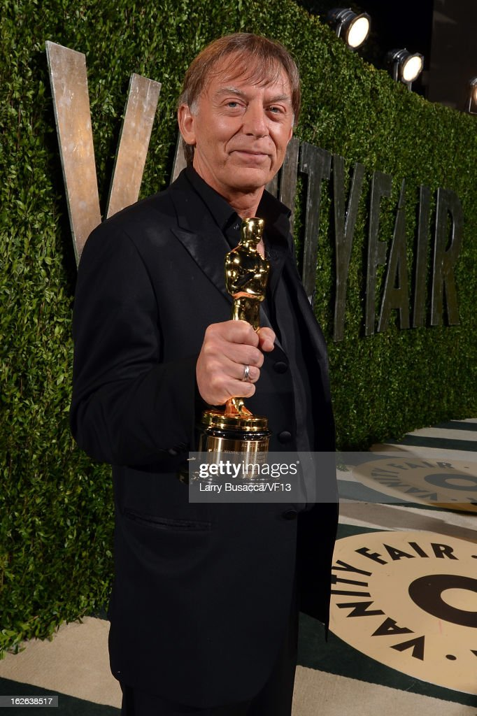 Paul N. J. Ottosson arrives for the 2013 Vanity Fair Oscar Party hosted by Graydon Carter at Sunset Tower on February 24, 2013 in West Hollywood, California.