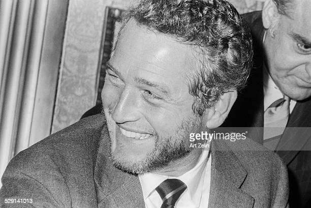 Paul Newman closeup circa 1970 New York