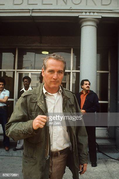 Paul Newman on the street circa 1970 New York