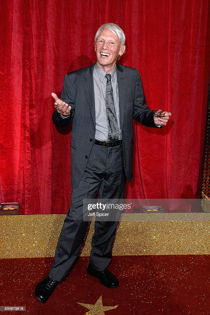 Paul Nicholas attends the British Soap Awards 2016 at Hackney Empire on May 28, 2016 in London, England.