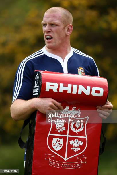Paul O'Connell British and Irish Lions captian