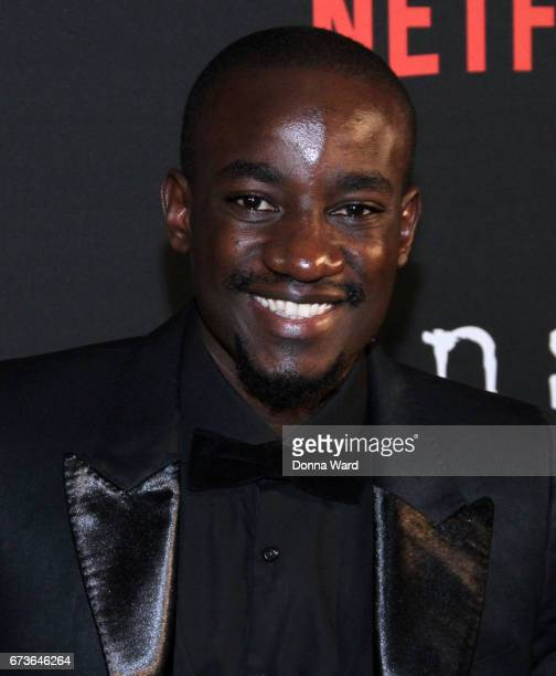 Paul Ogola attends the 'Sense8' New York Premiere at AMC Lincoln Square Theater on April 26 2017 in New York City