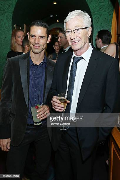Paul O'Grady attends 'A Bigger Splash' premiere after party presented by AnOther x Dior at Annabel's on October 21 2015 in London England