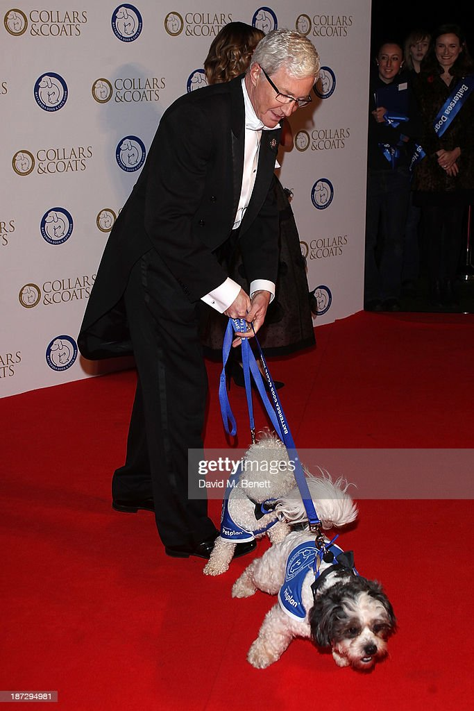 Paul O'Grady attends the annual Collars and Coats gala ball in aid of Battersea Dogs & Cats home at Battersea Evolution on November 7, 2013 in London, England.