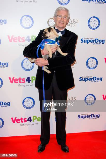 Paul O'Grady attends the Collars and Coats Ball 2017 at Battersea Evolution on November 2 2017 in London England