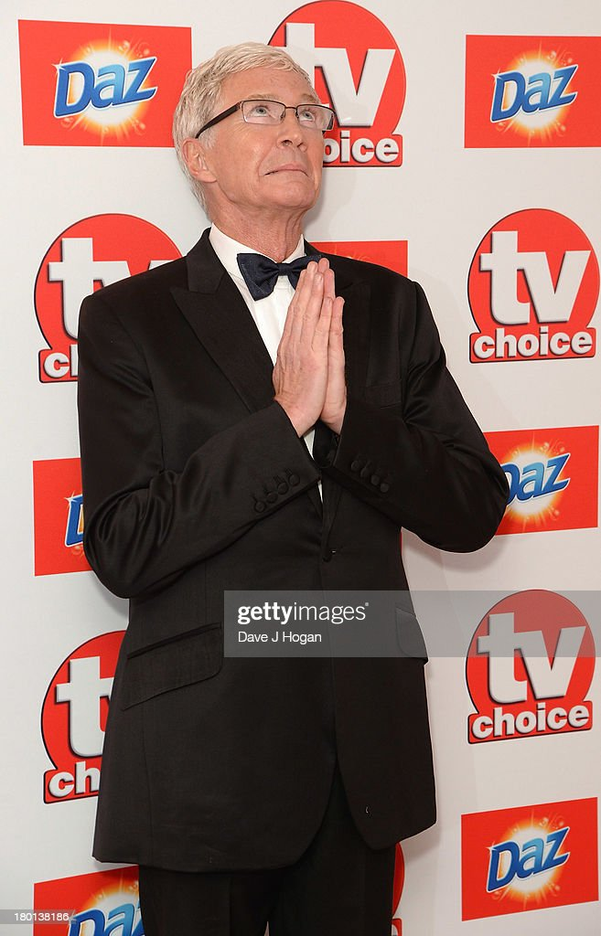 Paul O'Grady attends the TV Choice Awards 2013 at The Dorchester on September 9, 2013 in London, England.
