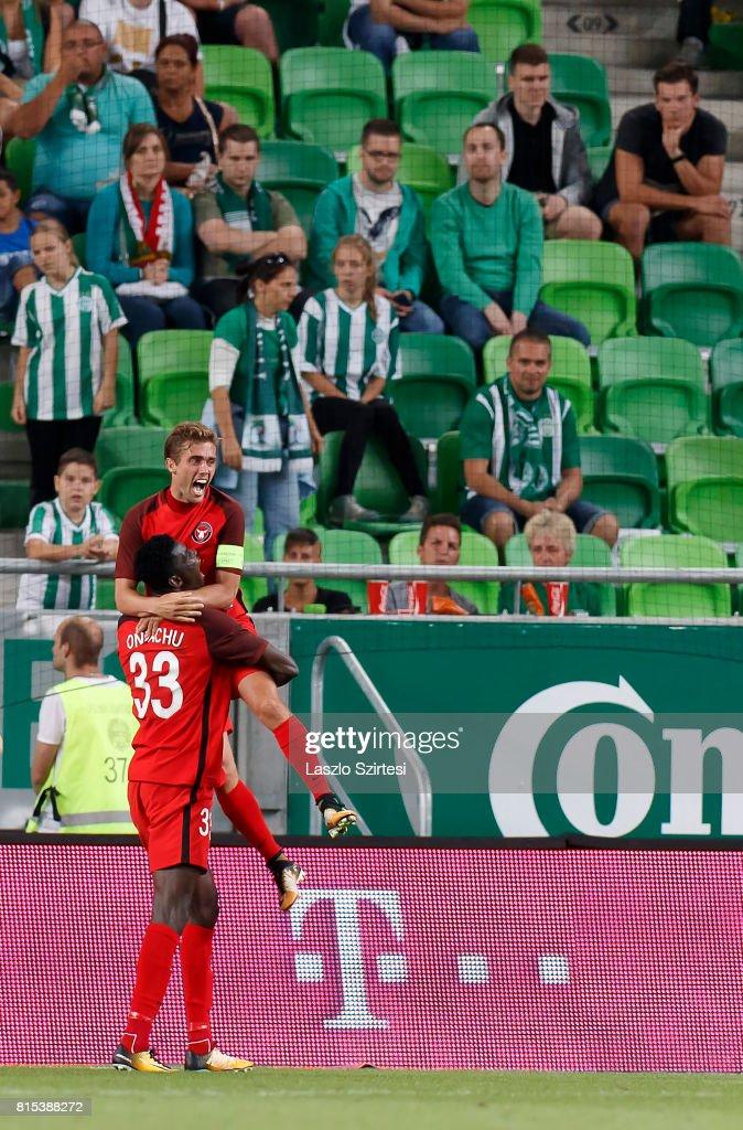 Ferencvarosi TC v FC Midtjylland - UEFA Europa League Second Qualifying Round