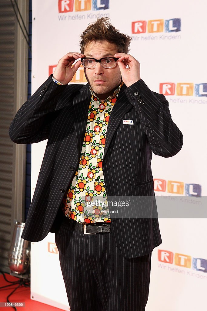 Paul Panzer attends the 'RTL Spendenmarathon' at RTL Studios on November 23, 2012 in Cologne, Germany.