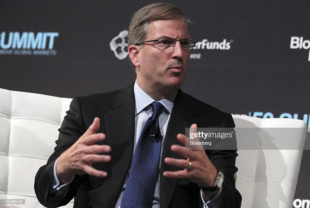 Paul Parker, head of global corporate finance at Barclays Plc, speaks at the Bloomberg Markets 50 Summit in New York, U.S., on Thursday, Sept. 13, 2012. The conference brings together the world's most influential leaders in finance, business and government to discuss the global economy. Photographer: Jin Lee/Bloomberg via Getty Images