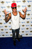 Paul 'Pauly D' DelVecchio arrives at the Hard Rock Hotel Casino during the resort's Rehab pool party on May 1 2016 in Las Vegas Nevada