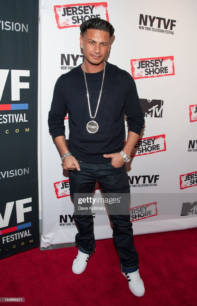 Paul 'Pauly D' DelVecchio attends 'Love, Loss, (Gym, Tan) and Laundry: A Farewell To The Jersey Shore' during the 2012 New York Television Festival at 92Y Tribeca on October 24, 2012 in New York City.