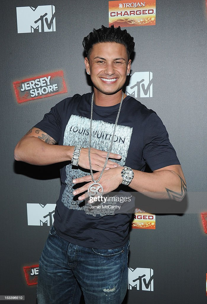 Paul 'Pauly D' DelVecchio attends the 'Jersey Shore' Final Season Premiere at Bagatelle on October 4, 2012 in New York City.