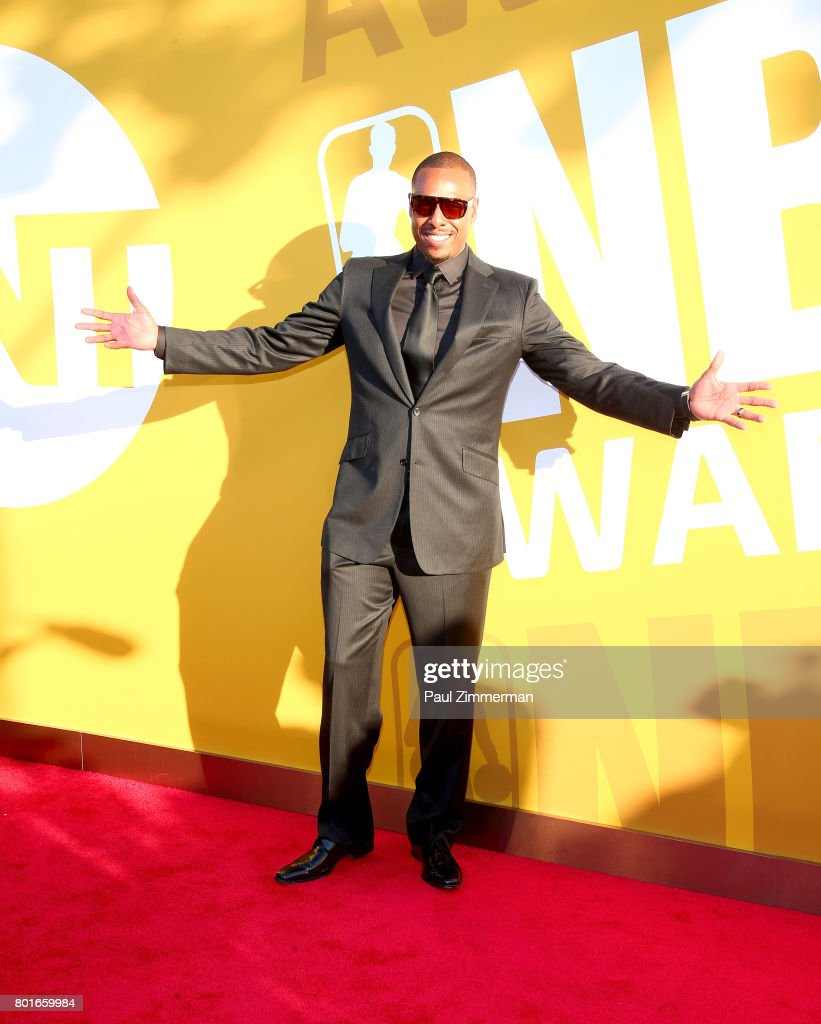 Paul Pierce attends the 2017 NBA Awards at Basketball City - Pier 36 - South Street on June 26, 2017 in New York City.