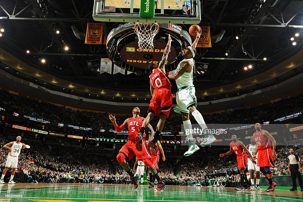 <a gi-track='captionPersonalityLinkClicked' href=/galleries/search?phrase=Paul+Pierce&family=editorial&specificpeople=201562 ng-click='$event.stopPropagation()'>Paul Pierce</a> #34 of the Boston Celtics drives to the basket against the Atlanta Hawks on March 8, 2013 at the TD Garden in Boston, Massachusetts.