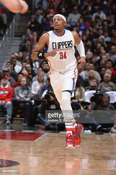 Paul Pierce of the Los Angeles Clippers is seen against the New Orleans Pelicans on January 10 2016 at STAPLES Center in Los Angeles California NOTE...