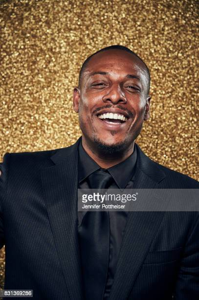 Paul Pierce poses for a portrait at the NBA Awards Show on June 26 2017 at Basketball City at Pier 36 in New York City New York NOTE TO USER User...