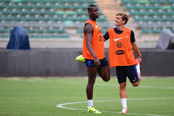 Training session before the Friendly match - Italy v France : News Photo