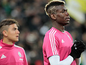 Paul Pogba before the serie A match between Juventus FC and AC Milan at the juventus stadium on november 21 2015 in torino italy
