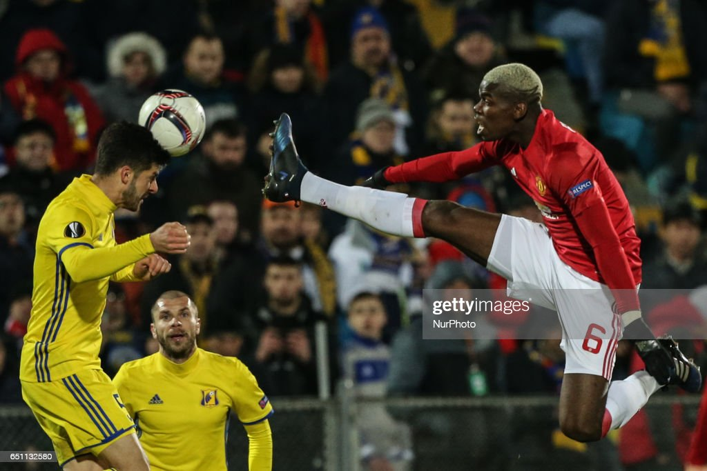 FK Rostov v Manchester United - UEFA Europa League Round of 16: First Leg : News Photo