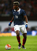 Paul Pogba of France in action during the International Friendly match between England and France at Wembley Stadium on November 17 2015 in London...