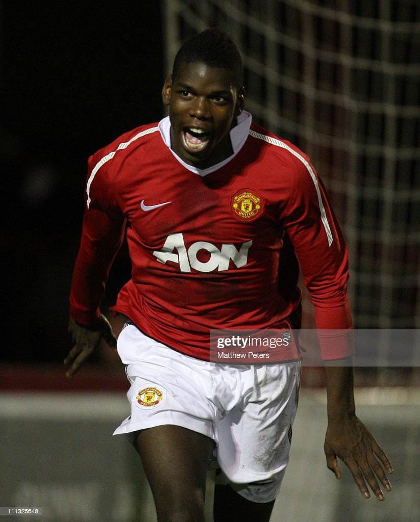 Manchester United v Portsmouth - FA Youth Cup 3rd Round