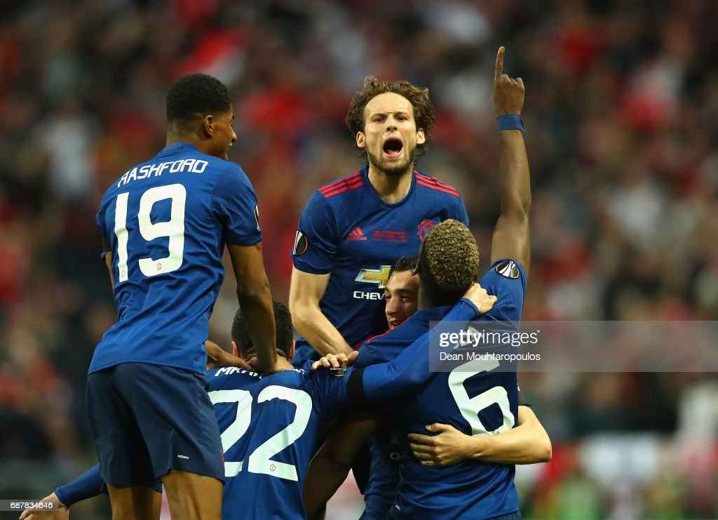 Ajax v Manchester United - UEFA Europa League Final