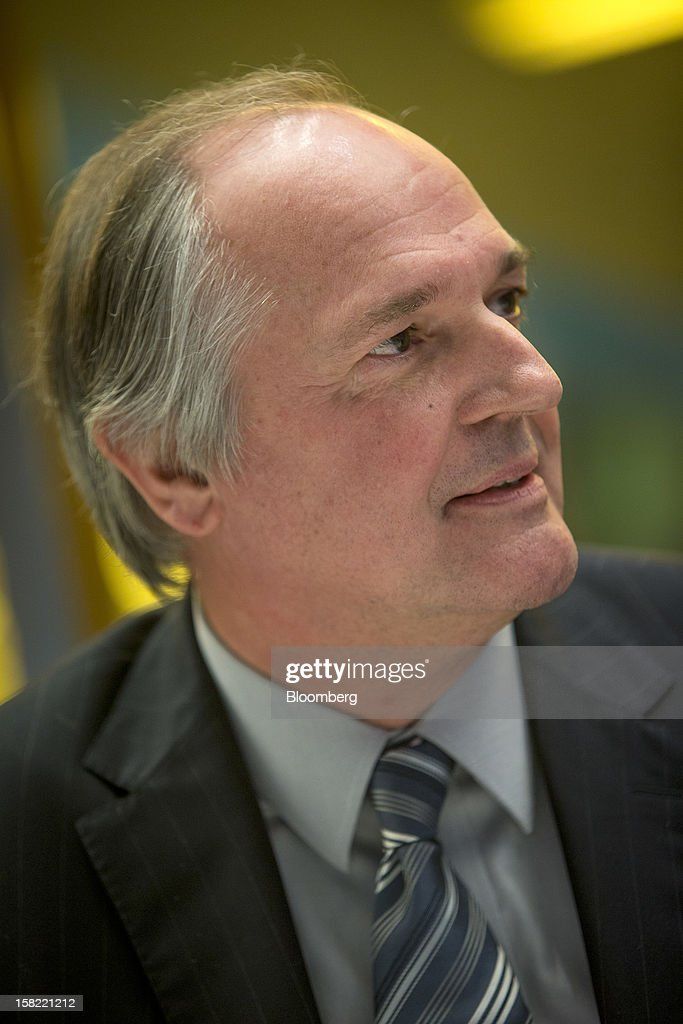 Paul Polman, chief executive officer of Unilever Plc, pauses during an interview in New York, U.S., on Tuesday, Dec. 11, 2012. Unilever, the world's second-biggest consumer-goods company, will sell more parts of its food business as it focuses on faster-growing personal care products and emerging markets, Polman said last month. Photographer: Scott Eells/Bloomberg via Getty Images
