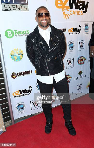 Paul Pratt arrives at eZWayCares Community Santa Toy Drive on December 18 2016 in Los Angeles California