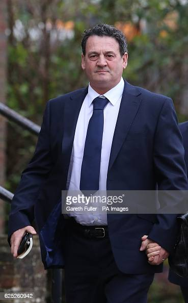 Paul Price the stepfather of model Katie Price arriving at Chichester Crown Court where he will stand trial accused of rape
