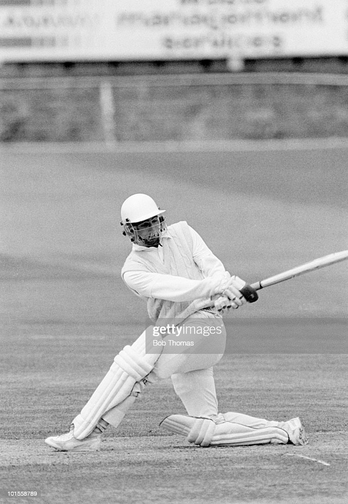 Paul Prichard of Essex during the Essex v Gloucestershire Benson and Hedges Cup match played at Chelmsford on the 13th May 1986.