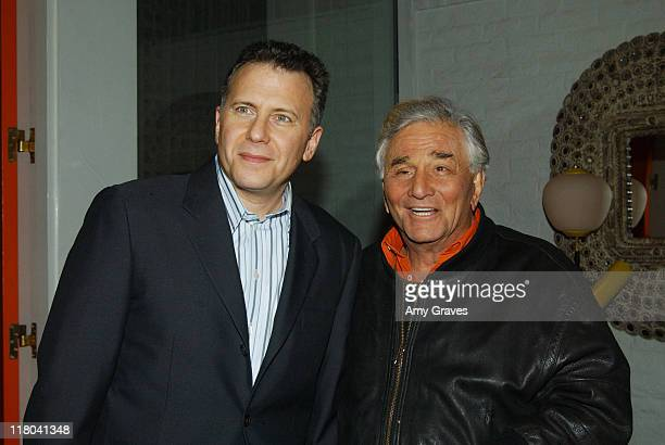 Paul Reiser and Peter Falk during Palm Springs International Film Festival Le Parker Meridien Hosts Cocktail Reception at Le Parker Meridian in Palm...