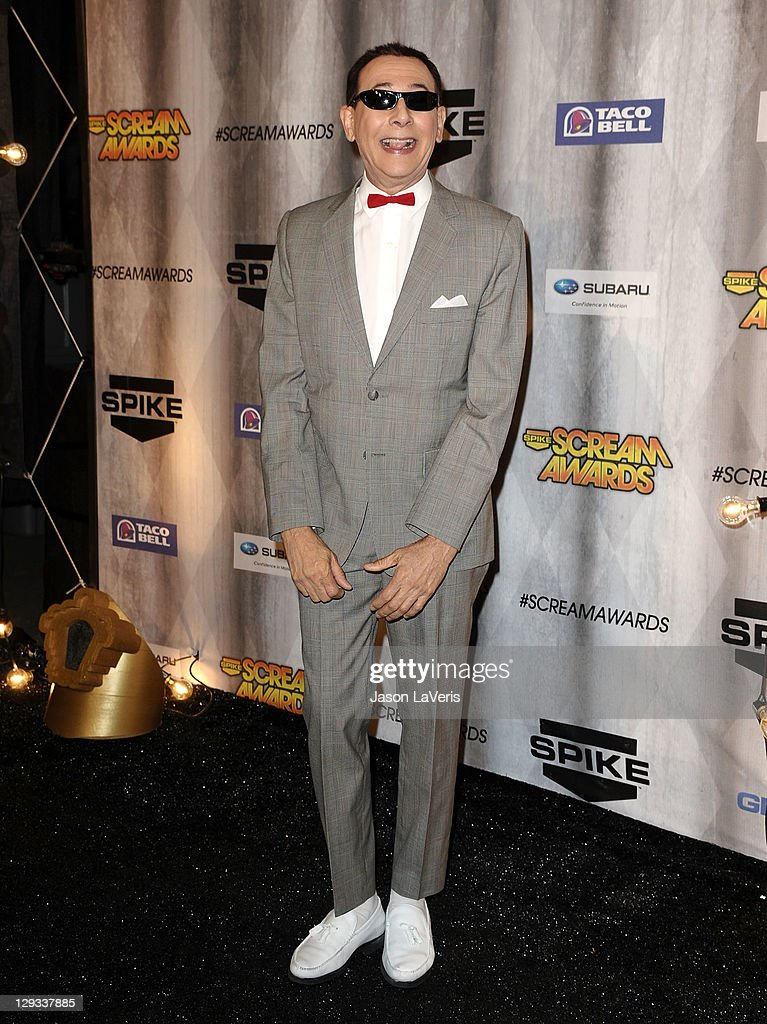 Paul Reubens aka Pee-wee Herman attends Spike TV's 2011 Scream Awards at Gibson Amphitheatre on October 15, 2011 in Universal City, California.
