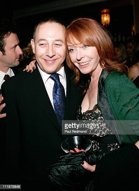 Paul Reubens and Cassandra Peterson during 'Dirt' Hollywood Premiere Arrivals and After Party in Hollywood California United States