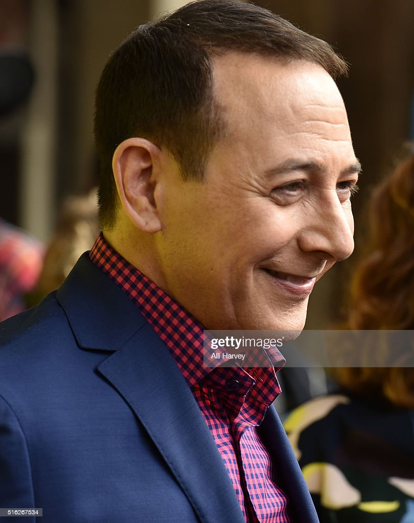 Paul Reubens attends Netflix presents the world premiere of 'Pee-wee's Big Holiday' at SXSW March 17, 2016 in Austin, Texas.