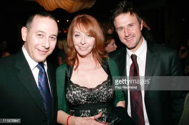 Paul Reubens Cassandra Peterson and David Arquette