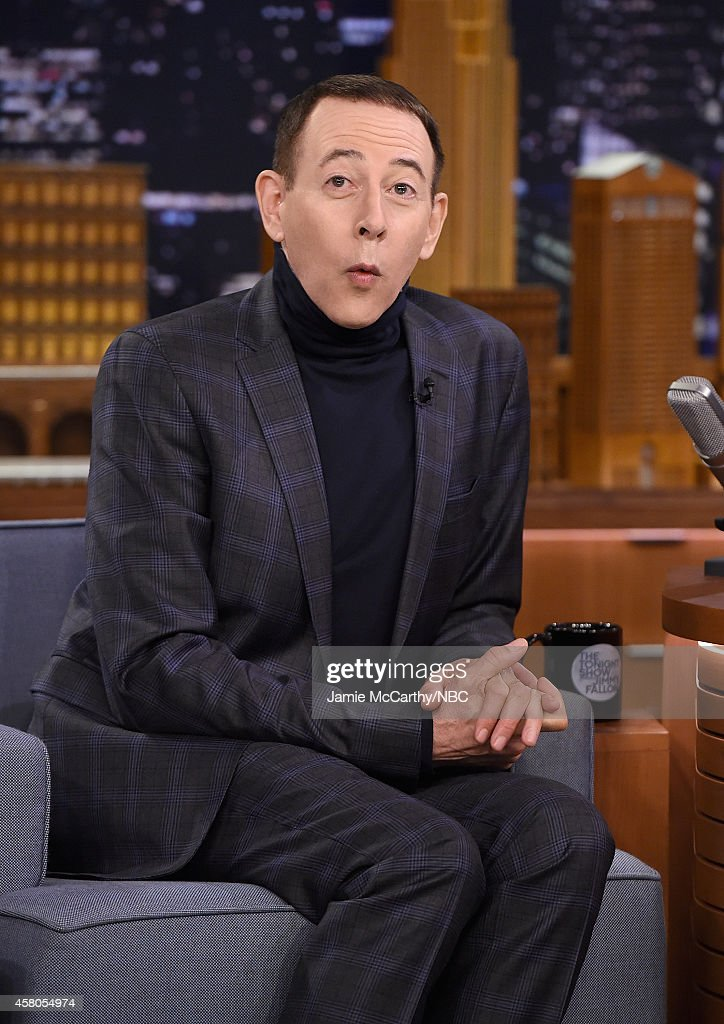"Paul Reubens Visits ""The Tonight Show Starring Jimmy Fallon"""