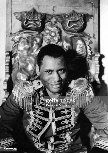 paul robeson stock photos and pictures getty images. Black Bedroom Furniture Sets. Home Design Ideas