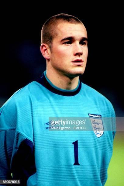 Paul Robinson England goalkeeper