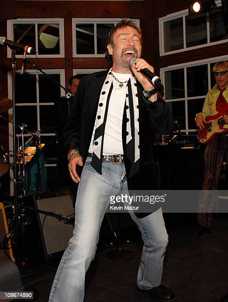 Paul Rodgers during Ahmet Ertegun Tribute After Party at The Boathouse Central Park in New York New York United States